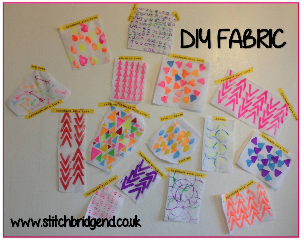 The Ramblings Of A Fairy Diy Fabric Series Part One